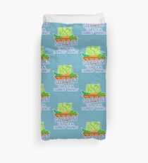 Support Your Local Farmers' Market Duvet Cover