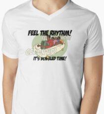 Cool Runnings!!! Men's V-Neck T-Shirt
