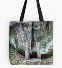 The Face Tote Bag