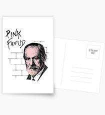 Pink Freud Sigmund Freud Postcards
