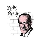 Pink Freud Sigmund Freud by TheShirtYurt