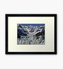 Glacial Flow Framed Print