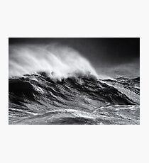 Whitecaps Photographic Print