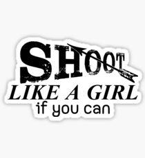 Archery Saying For Girls Sticker