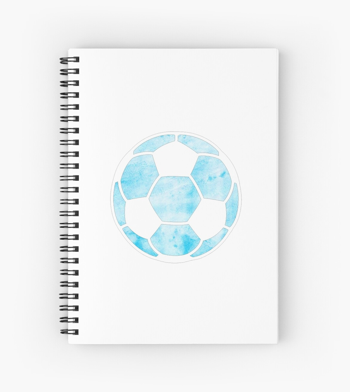 Fußball Hellblau von hcohen2000