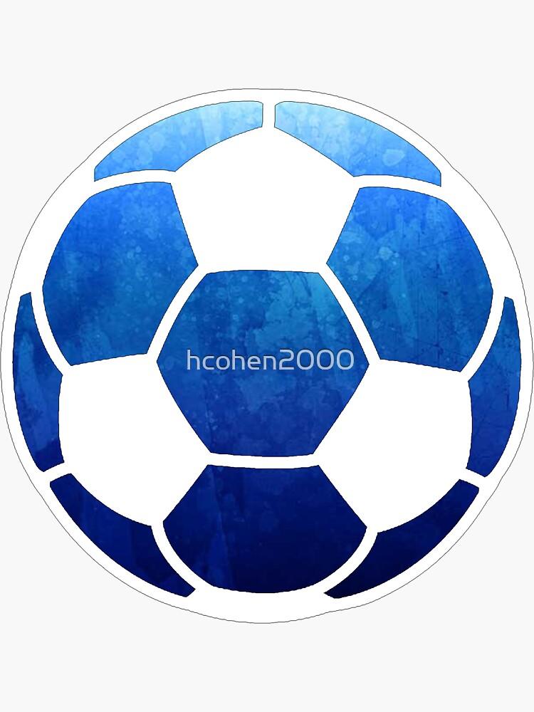 Fußball dunkelblau von hcohen2000