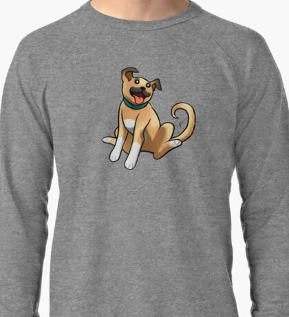 Boxer Mix Lightweight Sweatshirt