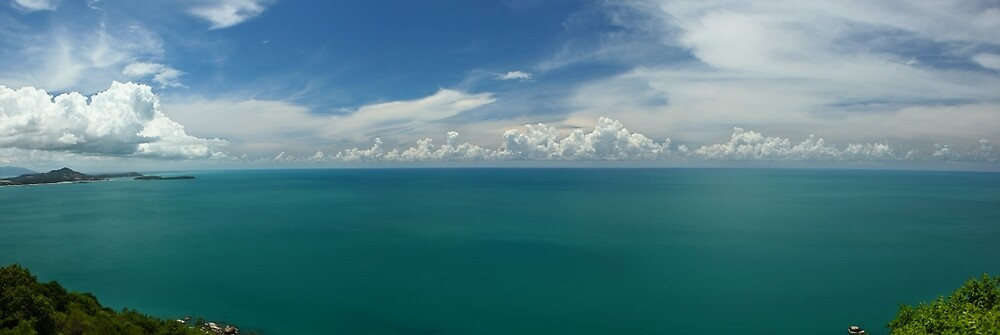 Koh Samui And The Gulf Of Thailand by 104paul
