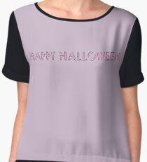 Happy Halloween Women's Chiffon Top