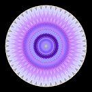 Vanilla Lily Mandala by Michael Matthews