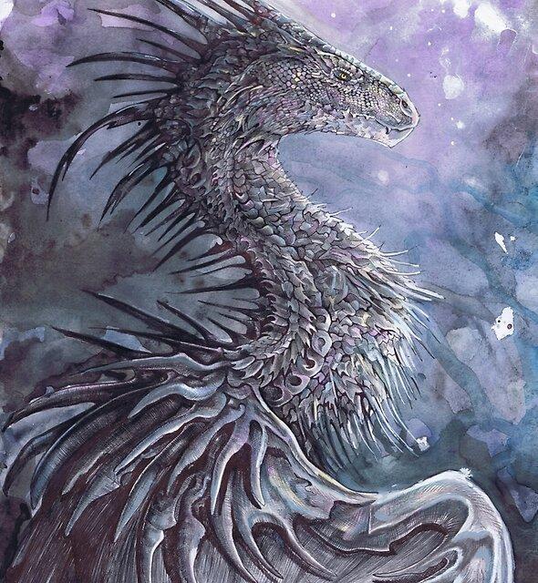 Dark Sky Drragon by Dawn Paws
