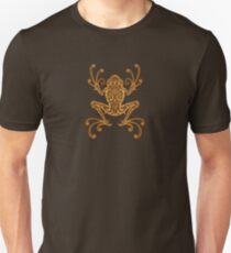 Intricate Golden Brown Tree Frog Unisex T-Shirt