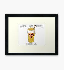 Osama Bin Ramen Noodle Co. Framed Print