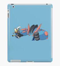 Cosplay Pikachu vs Mega Swampert iPad Case/Skin