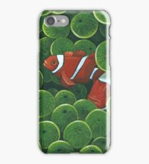 Clownfish - acrylic painting iPhone Case/Skin