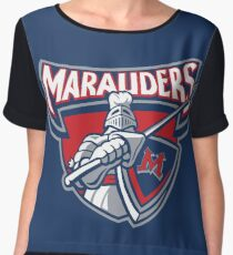 Miller Marauders Logo Chiffon Top