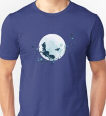 Flying Witch over Full Moon 2 T-Shirt