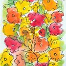 Sketchy Flowers by Barb Leopold
