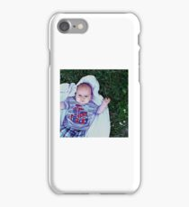 Noah laying in Nature iPhone Case/Skin