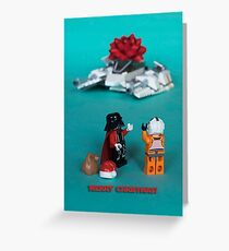 Christmas On Hoth Greeting Card