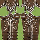 Bogenschützenrüstung Leggings von freeminds