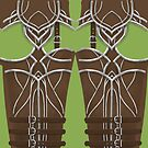 Archer Armor Leggings by freeminds