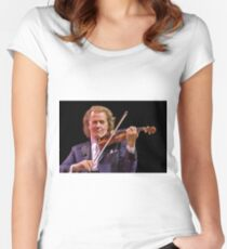 Andre Rieu - Music Maestro Women's Fitted Scoop T-Shirt