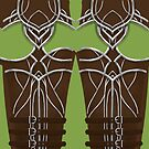 Archer Armor Leggings 2 by freeminds