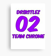 DrSkitlez- Team Chrome Guild RotMG Canvas Print