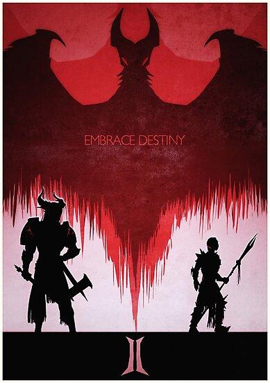 Embrace Destiny by Lazare Gvimradze