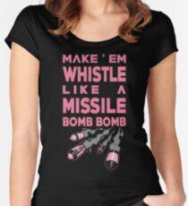 Blackpink - Make'Em Whistle Women's Fitted Scoop T-Shirt