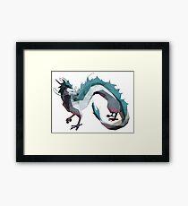 Haku (Dragon) - Spirited Away Framed Print