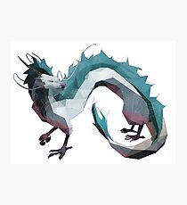 Haku (Dragon) - Spirited Away Photographic Print