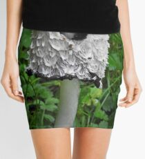 Shaggy ink cap Mini Skirt