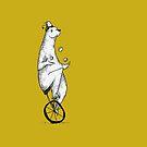 Juggling Bear! by Jake Smithies