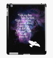Firefly theme (The Ballad of Serenity) iPad Case/Skin
