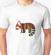 Red Panda And Forest Unisex T-Shirt