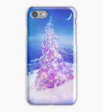 Heart snowstorm iPhone Case/Skin