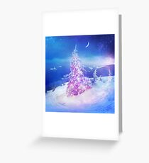 Heart snowstorm Greeting Card