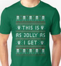 Emo Gothic Ugly Christmas Sweater Unisex T-Shirt
