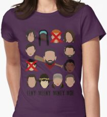 Negan - Eeny Many Moe Womens Fitted T-Shirt