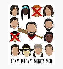 Negan - Eeny Many Moe Photographic Print