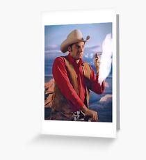 Cowboy Kramer Greeting Card