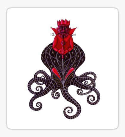 Red King Sticker