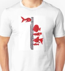 Fish and Flute Unisex T-Shirt