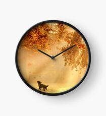 Chasing sunbeams Clock