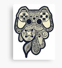 Games Console Canvas Print