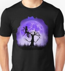 Moonlight Wondering Fairy - Purple Unisex T-Shirt