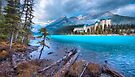 Dreamy Chateau Lake Louise by John Poon