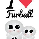 """Furball - """"I love Dread"""" Collection by LorielDesign"""